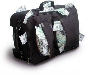 savings in bag