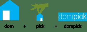 Portal Inmobilliario Dompick explicación nombre de marca