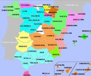Карта Испании.Новый взгляд или новое открытие