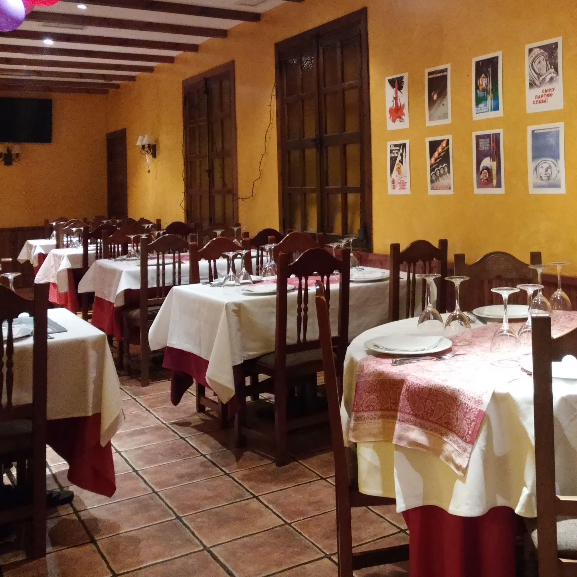gribok restaurante ruso en Madrid